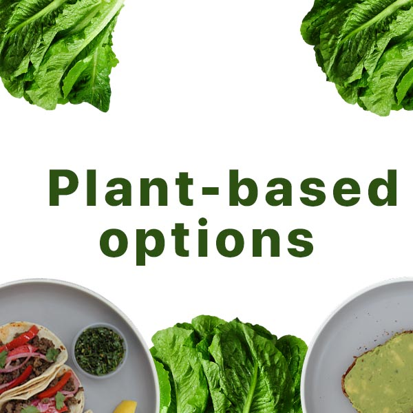 Plant based options