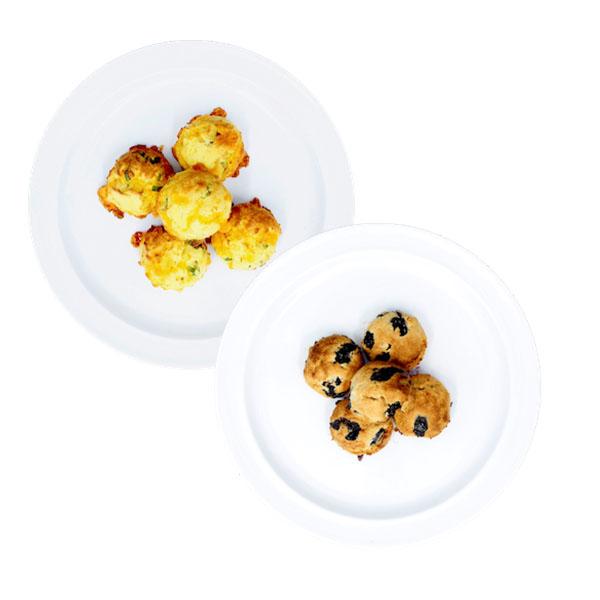 Keto scone bites