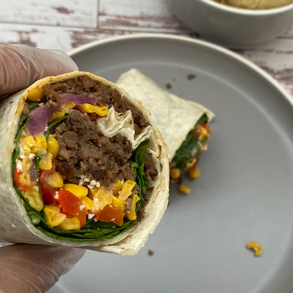 Impossible Beef Burrito